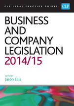 Business and Company Legislation 2014/2015
