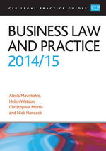 Business Law and Practice 2014/2015 - Alexis Mavrikakis