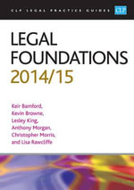Legal Foundations 2014/2015 - Kier Bamford