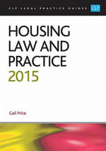 Housing Law and Practice 2015 - Gail Price