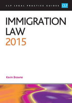 Immigration Law 2015 - Kevin Browne