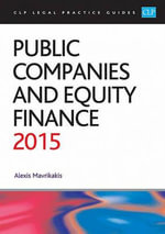 Public Companies and Equity Finance 2015 - Alexis Mavrikakis