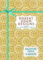 Robert Adam Designs : Wrapping Paper Book - Sir John Soane's Museum