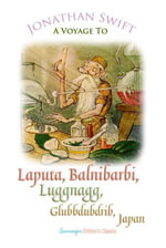 A Voyage to Laputa, Balnibarbi, Luggnagg, Glubbdubdrib and Japan - Jonathan Swift