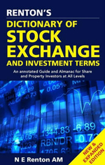 Dictionary of Stock Exchange : And Investment Terms - Nick Renton