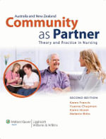 Community as Partner : Theory and Practice in Nursing - Karen Francis