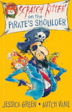 Scratch Kitten on The Pirate's Shoulder : 000389067 - Jessica Green