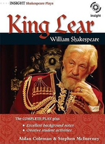William Shakespeare's King Lear : Insight Shakespeare Plays - Shane Barnes