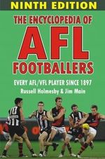 The Encyclopedia of AFL Footballers  :  Every AFL/VFL Player Since 1897 - Main Jim
