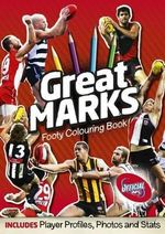 Footy Colouring Book : Great Marks Deluxe  - Slattery Media Group
