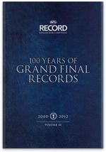 100 Years of AFL Grand Final Records - 11 x Hardcover Books in 1 x Boxed Set : 7000+ pages in 11 Volumes - AFL Record Collector's Edition