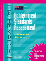 Achievement Standards Assessment : Mathematics - Number & Algebra Year 2 - Edward Connor