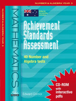 Achievement Standards Assessment : Mathematics - Number & Algebra Year 3 - Edward Connor