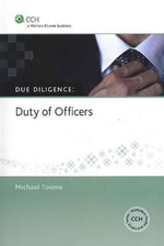 Due Diligence Series : Duty of Officers - Michael Tooma