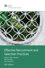 Effective recruitment and selection practices : product code: 39746A - Robert Compton