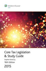 Core Tax Legislation and Study Guide 2015 - Stephen Barkoczy