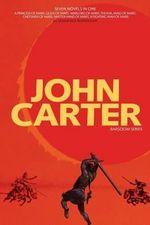 John Carter : Barsoom Series (7 Novels) a Princess of Mars; Gods of Mars; Warlord of Mars; Thuvia, Maid of Mars; Chessmen of Mars; M - Edgar Rice Burroughs