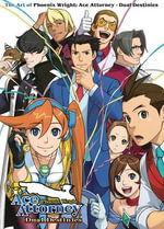 The Art of Phoenix Wright : Ace Attorney - Dual Destinies - Capcom