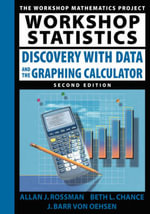 Workshop Statistics : Discovery with Data and the Graphing Calculator - Allan J. Rossman