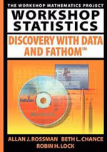 Workshop Statistics : Discovery with Data and Fathom - Allan J. Rossman
