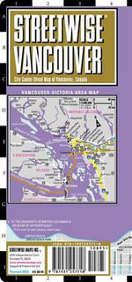Streetwise Vancouver Map - Laminated City Center Street Map of Vancouver, Canada : Folding Pocket Size Travel Map - Streetwise Maps Inc