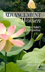 Advancement of Women - Janet A Khan