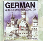 German in 10 Minutes a Day Audio CD Wallet - Library Edition : Library Edition - Kristine K. Kershul