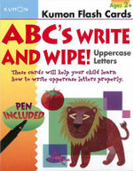 ABCS Uppercase Write & Wipe : Uppercase Letters - Kumon Publishing
