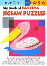 My Book of Pasting : Jigsaw Puzzles - Kumon Publishing