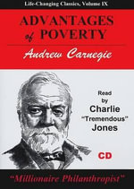 Advantages of Poverty - Andrew Carnegie