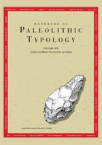Handbook of Paleolithic Typology : Lower and Middle Paleolithic of Europe - Andre Debenath