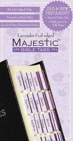 Majestic Bible Tabs Lavender - Na Na