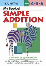 My Book of Simple Addition - Kumon