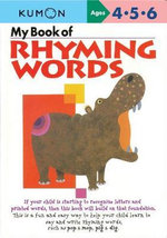 My Book of Rhyming Words - Kumon