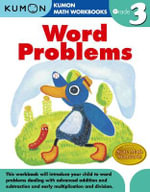 Word Problems, Grade 3 - Kumon Publishing