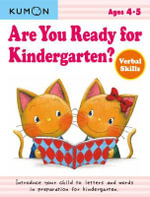 Are You Ready for Kindergarten? : Verbal Skills - Kumon Publishing