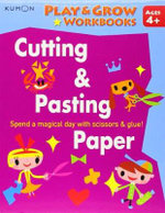 Cutting & Pasting Paper : Cutting and Pasting Paper - Kumon Publishing