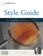 Style Guide : For Business and Technical Communication - Dr Stephen R Covey