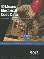 2013 Rsmeans Electrical Cost Data : Means Electrical Cost Data