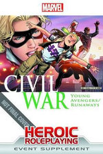 Marvel Heroic RPG : Civil War - Young Avengers/Runaways - Margaret Weis Productions