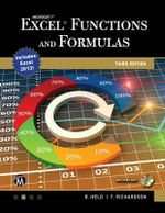 Microsoft Excel Functions and Formulas - Bernd Held