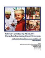 Pakistan's Civil Society : Alternative Channels to Countering Violent Extremism - Dr Hedieh Mirahmadi