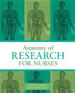 Anatomy of Research for Nurses - Christine Hedges
