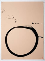 Max Gimblett: The Sound of One Hand : Calligraphy Practice 1967-2014 - Tom Huhn