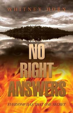 No Right Answers - Whitney Horn
