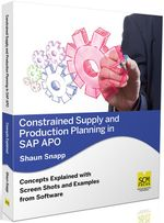 Constrained Supply and Production Planning in SAP APO - Shaun