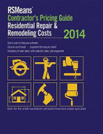 RSMeans Contractor's Pricing Guide : Residential Repair & Remodeling