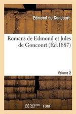 Romans de Edmond Et Jules de Goncourt. Madame Gervaisais. Vol. 2 - Edmond De Goncourt