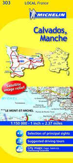 Calvados, Manche : Calvados, Manche - Michelin Travel Publications