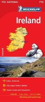Ireland National Map 712 - Michelin